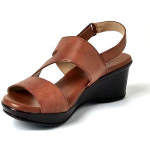 Naturalizer Womens Valerie Saddle Sandals 6.5W